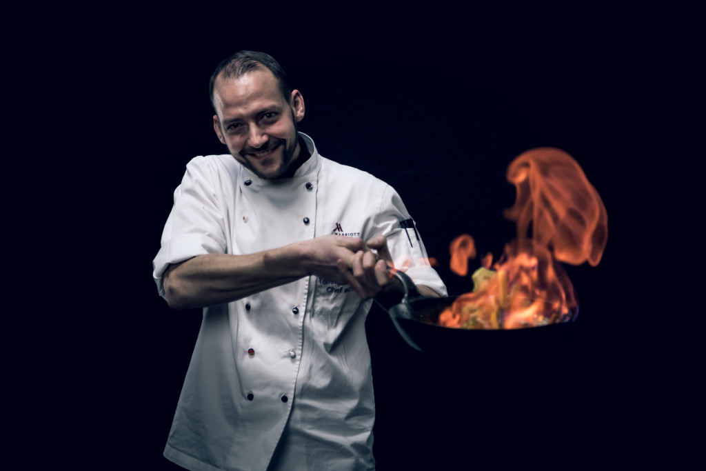 Tommy Götzfried, chef at Swiss eCHo Restaurant