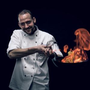 Tommy Götzfried, chef at Swiss eCHo Restaurant